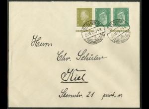 Dt. Reich, K 11 OR 1, Fern-Brief, dgz Oberrand, Mi.-Handbuch 65,- (15590)