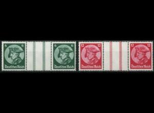 Dt. Reich, WZ 9 + WZ 10, tadellos postfrisch, Mi. 120,- (15676)