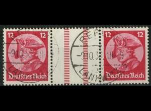 Dt. Reich, WZ 10, tadellos gestempelt, Mi. 120,- (15682)