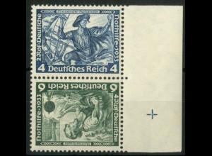 Dt. Reich, SK 19 RR 2, postfrisch, Passerkreuz, Mi.-Handbuch 180,- (15788)