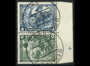 Dt. Reich, SK 19 RR 2, gestempelt, Passerkreuz, Mi.-Handbuch 180,- (15790)