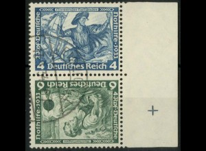 Dt. Reich, SK 19 RR 2, gest., Passerkreuz, gepr. BPP, Mi.-Handbuch 180,- (15792)