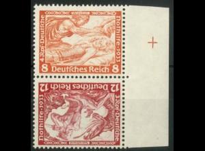 Dt. Reich, SK 20 RR 1, postfrisch, Passerkreuz, Mi.-Handbuch 180,- (15796)
