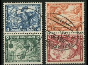 Dt. Reich, SK 19 + 20, gestempelt, Mi.-Handbuch 200,- (15924)