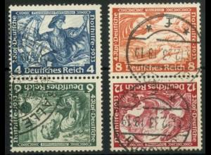 Dt. Reich, SK 19 + 20, gestempelt, Mi.-Handbuch 200,- (15925)