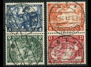 Dt. Reich, SK 19 + 20, gestempelt, Mi.-Handbuch 200,- (15928)