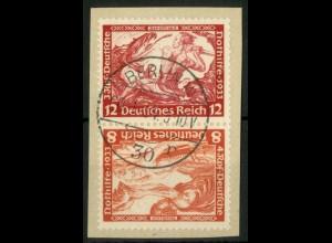 Dt. Reich, SK 20, Briefstück, Mi.-Handbuch 100,- (15936)