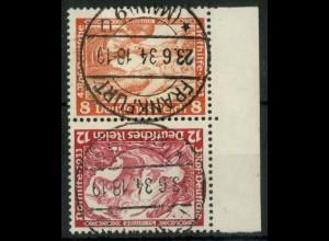 Dt. Reich, SK 20, gestempelt, Mi.-Handbuch 100,- (15968)