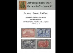 Dr. Gleißner: Handbuch der Plattenfehler Mi. 63-66, Arge Germania, 39,-(15979)