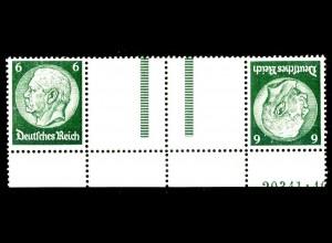 Dt. Reich, KZ 22.6 HAN 1, postfr., HAN 20341.40, Michel-Handbuch 300,- (16392)
