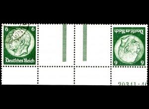 Dt. Reich, KZ 22.6 HAN 1, gest., HAN 20341.40, Michel-Handbuch 300,- (16397)