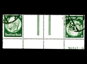 Dt. Reich, KZ 22.6 HAN 1, gest., HAN 20341.40, Michel-Handbuch 300,- (16400)
