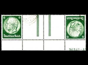Dt. Reich, KZ 22.6 HAN 1, gest., HAN 20341.40, Michel-Handbuch 300,- (16401)