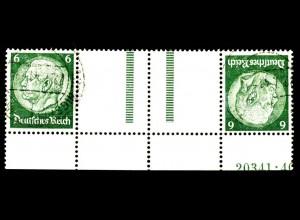 Dt. Reich, KZ 22.6 HAN 1, gest., HAN 20341.40, Michel-Handbuch 300,- (16402)