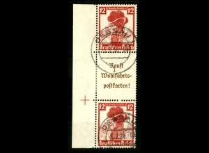 Dt. Reich, S 242 LR 2, gestempelt, Michel-Handbuch 70,- (16547)