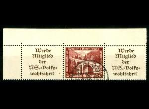 Dt. Reich, W 112 EOL 1, gestempelt, Michel-Handbuch 70,- (16636)