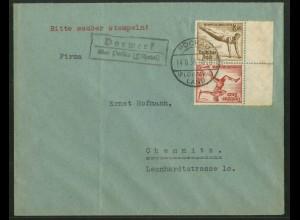 Dt. Reich, SK 28 RR, Fern-Brief, Michel-Handbuch 45,- (17752)