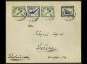 Dt. Reich, W 106 LR, portogerecht (Sondertarif), Michel-Handb. 30,- ++ (17766)