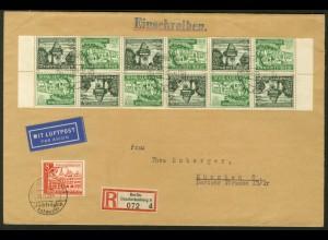 Dt. Reich, SK 35 RR (2) + SK 35 (4), portogerecht, Michel-Handbuch 74,- (17879)