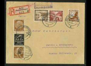 Dt. Reich, P-S 7 + W 115, portogerecht, Mi.-Handbuch 40,- (18357)