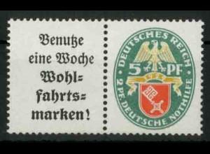 Dt. Reich, W 35 PF I, Plattenfehler, postfrisch, Mi.-Handbuch 150,- (18411)
