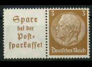 Dt. Reich, W 79 PF II, Plattenfehler, postfrisch, Mi.-Handbuch 100,- (18690)