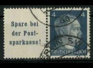 Dt. Reich, W 151 PF I, Plattenfehler, gest., Mi.-Handbuch 80,- (18781)