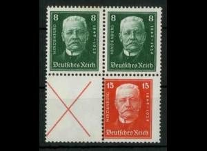 Dt. Reich, S 36 + 37 KV, Klischee-Verschiebung, ungebr., Mi.-Handb. 75,- (18816)