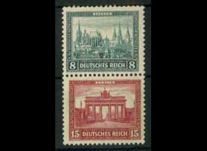 Dt. Reich, S 76 KV, Klischee-Verschiebung, postfr., Mi.-Handbuch 58,- (18819)
