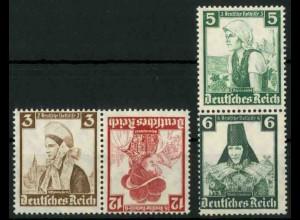 Dt. Reich, K 26 KV + S 231 KV, Klischee-Verschiebung, postfrisch (18873)