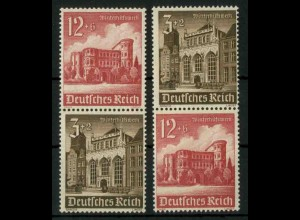 Dt. Reich, S 266 + S 268 KV, Klischee-Verschiebung, postfrisch (18893)