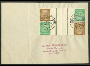 Dt. Reich, KZ 25 (2), portoger. Mehrfachfrankatur, Mi.-Handbuch 60,- (19055)
