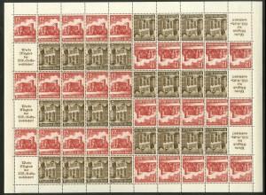 Dt. Reich, MHB 67.1 + 68.1, postfrisch, ungeknickt, Mi. 700,- (19185)