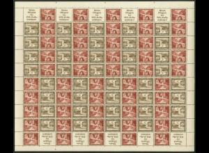 Dt. Reich, MHB 59.2 + 60.1, Form-Nr., postfrisch, Mi. 1350,- (19204)