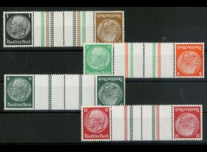 Dt. Reich, KZ 20 - KZ 23, postfrisch, ungeknickt, Mi. 95,- (19331)