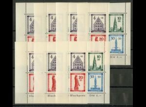 Frz. Zone Baden, Bl. 1 A (7), postfrisch, Mi. 525,- (19471)