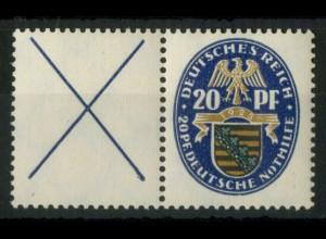 Dt. Reich, W 20.1, postfrisch, ungeknickt, Mi. 350,- (19508)