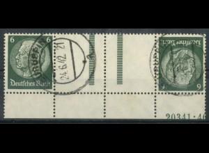 Dt. Reich, KZ 22.6 HAN 1, gestempelt, HAN 20341.40, Mi. 300,- (19520)