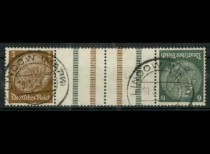 Dt. Reich, KZ 27.2, gestempelt, ungeknickt, Mi. 150,- (19530)
