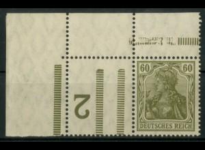 """Dt. Reich, RL 9 EOL, mit BKZ """"2"""", postfrisch, Mi.-Handbuch 150,- (19562)"""