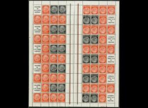 Dt. Reich, MHB 41 HAN 2, postfrisch, ungefaltet, Mi. 1400,- (19570)