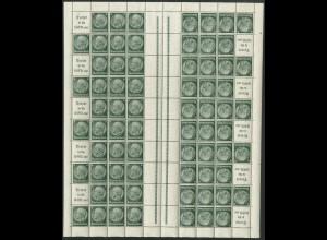 Dt. Reich, MHB 49.3, postfrisch, ungefaltet, Mi. 250,- (19579)
