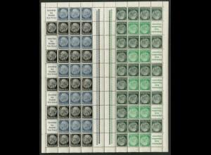 Dt. Reich, MHB 51.1 HAN 1, postfrisch, ungefaltet, Mi. 1000,- ++ (19590)