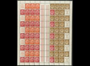 Dt. Reich, MHB 52 HAN 3, postfrisch, ungefaltet, Mi. 1000,- (19596)
