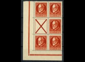 Bayern, S 24, postfrisch, ungeknickt, nicht angetrennt, Mi. 60,- (19664)