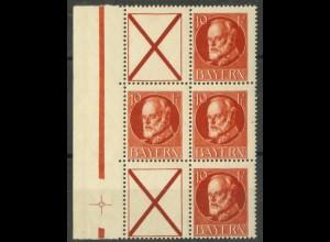 Bayern, S 22, postfrisch, ungeknickt, nicht angetrennt, Mi. 60,- (19665)