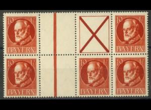 Bayern, WZ 9 + WZ 10, postfrisch, ungeknickt,nicht angetrennt, Mi. 150,- (19667)
