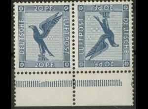 Dt. Reich, K 8 UR, postfrisch, Unterrand, Befund BPP, Mi.-Handbuch 500,- (19677)