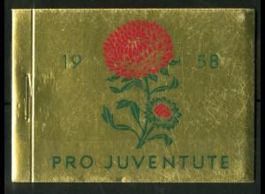 Schweiz, MH 0-43, MH Juventute 1958, postfrisch, Mi. 120,-, SBK 120,- (50191)