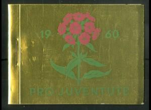 Schweiz, MH 0-47, MH Juventute 1960, Oberr., postfr., Mi. 70,-, SBK 70,- (50193)
